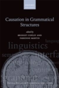 Ebook in inglese Causation in Grammatical Structures -, -