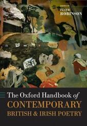 Oxford Handbook of Contemporary British and Irish Poetry