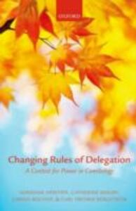 Ebook in inglese Changing Rules of Delegation: A Contest for Power in Comitology Bergstr&ouml , , ergstr&ouml , m , Bischoff, Carina S. , H&eacute , ritier, Adrienne , Moury, Catherine