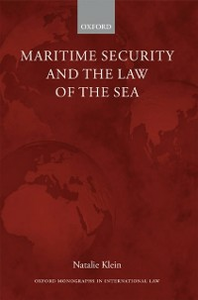 Ebook in inglese Maritime Security and the Law of the Sea Klein, Natalie