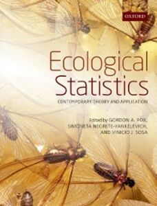 Foto Cover di Ecological Statistics: Contemporary theory and application, Ebook inglese di  edito da OUP Oxford