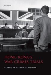 Hong Kong's War Crimes Trials
