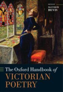 Ebook in inglese Oxford Handbook of Victorian Poetry