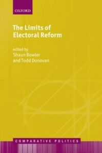 Ebook in inglese Limits of Electoral Reform Bowler, Shaun , Donovan, Todd