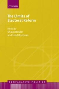 Ebook in inglese Limits of Electoral Reform Bowler, Shaun , Donovan, Todd