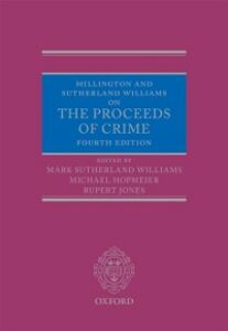 Ebook in inglese Millington and Sutherland Williams on The Proceeds of Crime -, -