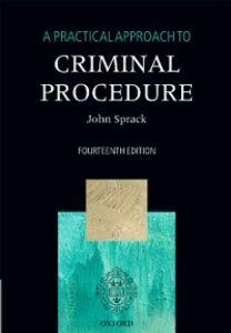 Foto Cover di Practical Approach to Criminal Procedure, Ebook inglese di John Sprack, edito da OUP Oxford