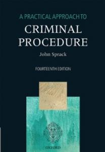 Ebook in inglese Practical Approach to Criminal Procedure Sprack, John