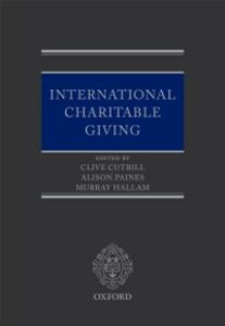 Ebook in inglese International Charitable Giving