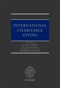 Ebook in inglese International Charitable Giving -, -