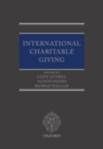Ebook in inglese International Charitable Giving