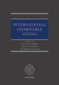 Ebook in inglese International Charitable Giving -, -