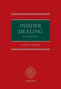 Ebook in inglese Insider Dealing: Law and Practice Clarke, Sarah