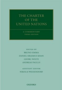 Ebook in inglese Charter of the United Nations: A Commentary Wessendorf, Nikolai