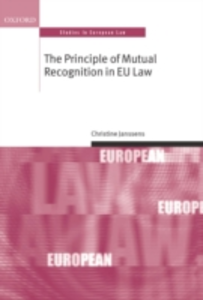 Ebook in inglese Principle of Mutual Recognition in EU Law Janssens, Christine
