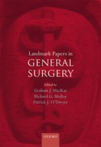 Foto Cover di Landmark Papers in General Surgery, Ebook inglese di  edito da OUP Oxford