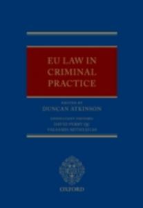 Ebook in inglese EU Law in Criminal Practice -, -