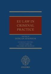 EU Law in Criminal Practice