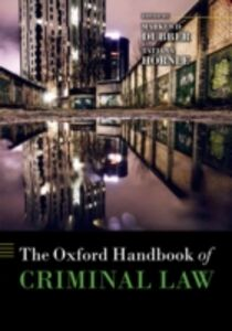 Ebook in inglese Oxford Handbook of Criminal Law