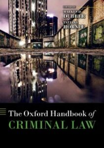 Foto Cover di Oxford Handbook of Criminal Law, Ebook inglese di  edito da OUP Oxford