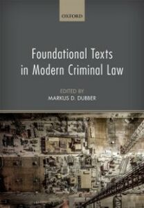 Ebook in inglese Foundational Texts in Modern Criminal Law -, -