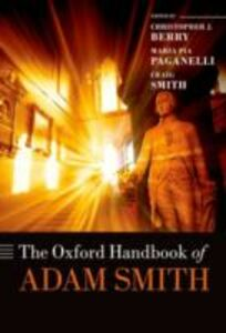 Ebook in inglese Oxford Handbook of Adam Smith