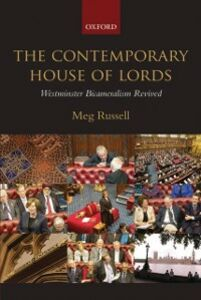 Foto Cover di Contemporary House of Lords: Westminster Bicameralism Revived, Ebook inglese di Meg Russell, edito da OUP Oxford
