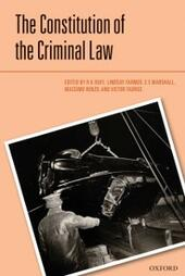 Constitution of the Criminal Law