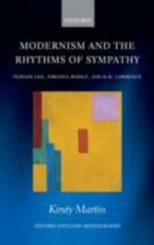 Modernism and the Rhythms of Sympathy: Vernon Lee, Virginia Woolf, D.H. Lawrence