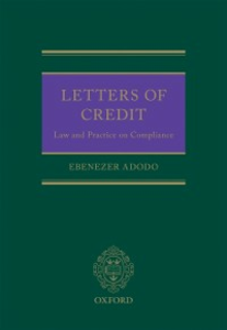 Ebook in inglese Letters of Credit: The Law and Practice of Compliance Adodo, Ebenezer