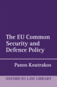 Ebook in inglese EU Common Security and Defence Policy Koutrakos, Panos