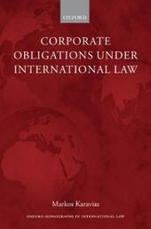 Corporate Obligations under International Law