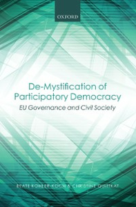 Ebook in inglese De-Mystification of Participatory Democracy: EU-Governance and Civil Society Kohler-Koch, Beate , Quittkat, Christine