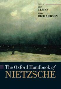 Foto Cover di Oxford Handbook of Nietzsche, Ebook inglese di  edito da OUP Oxford