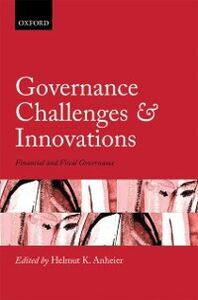 Ebook in inglese Governance Challenges and Innovations: Financial and Fiscal Governance -, -