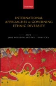 Ebook in inglese International Approaches to Governing Ethnic Diversity
