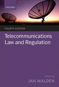 Ebook in inglese Telecommunications Law and Regulation