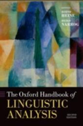 Oxford Handbook of Linguistic Analysis