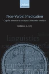 Nonverbal Predication: Copular Sentences at the Syntax-Semantics Interface