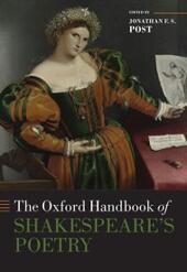 Oxford Handbook of Shakespeare's Poetry