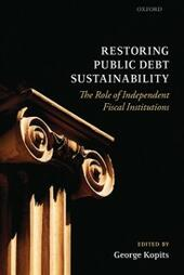 Restoring Public Debt Sustainability: The Role of Independent Fiscal Institutions