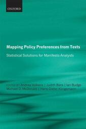 Mapping Policy Preferences from Texts: Statistical Solutions for Manifesto Analysts
