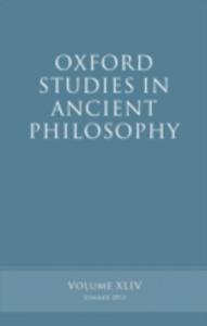 Ebook in inglese Oxford Studies in Ancient Philosophy, Volume 44 -, -