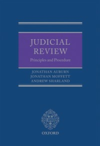 Ebook in inglese Judicial Review: Principles and Procedure Auburn, Jonathan , Moffett, Jonathan , Sharland, Andrew