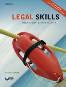 Foto Cover di Legal Skills, Ebook inglese di Stefan Fafinski,Emily Finch, edito da OUP Oxford