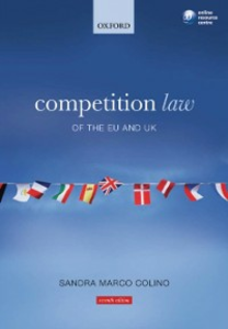 Ebook in inglese Competition Law of the EU and UK Marco Colino, Sandra