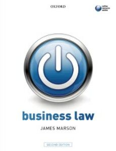 Ebook in inglese Business Law Marson, James