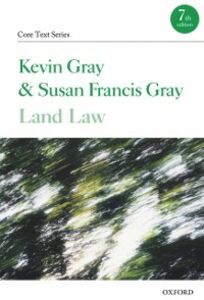 Ebook in inglese Land Law Gray, Kevin , Gray, Susan Francis