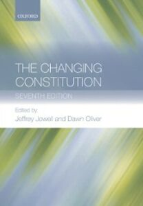 Ebook in inglese Changing Constitution