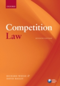 Ebook in inglese Competition Law Bailey, David , Whish, Richard